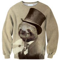 Old Money Flows Sloth Sweater