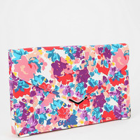 Kimchi Blue Floral Abstract Clutch