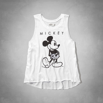 Mickey Mouse graphic muscle tank