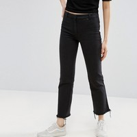 Weekday Cropped Raw Hem Pant at asos.com