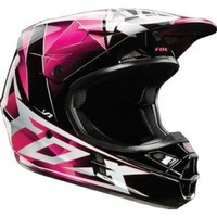 Fox Racing V1 Radeon Helmet - Small/Pink