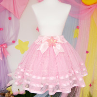 Twinkling Star Tulle Skirt from Pinkly Ever After