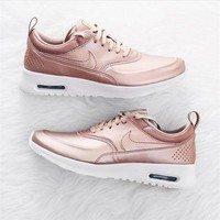 Nike Air Max Thea SE Casual Sports Shoes Rose Gold