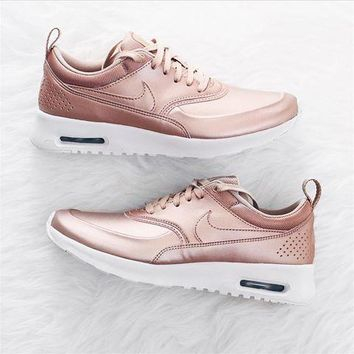 Nike Air Max Thea SE Casual Sports Shoes Rose Gold 812924b43