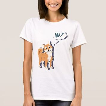 Thoughtful Shiba Inu T-Shirt