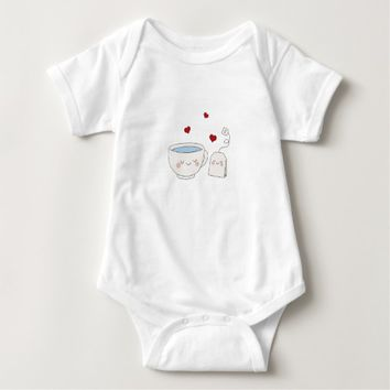 Cute Tea Baby Bodysuit
