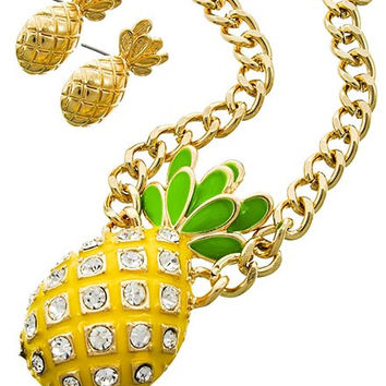 Pineapple Princess Necklace