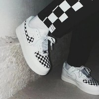 DCCKHC3 Nike'Authentic CHECKBOARD' Air Force shoes