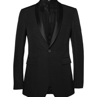 Burberry London - Wool and Silk-Blend Tuxedo Jacket | MR PORTER
