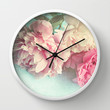 like yesterday Wall Clock by Sylvia Cook Photography