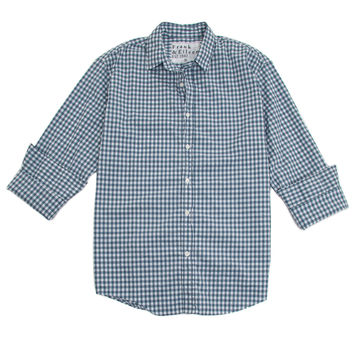 Frank & Eileen Blue Gingham Paul Shirt
