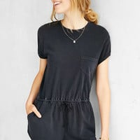 BDG Melinda Knit Drawstring Romper - Urban Outfitters