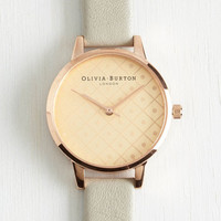 Olivia Burton Luxe What Makes You Tick Watch