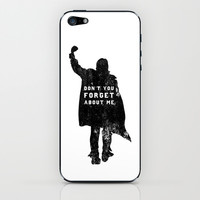 John Bender Doesn't Want You To Forget iPhone & iPod Skin by LookHUMAN