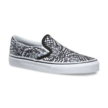 Checker Kaleidoscope Slip-On | Shop Womens Shoes at Vans