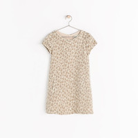 JACQUARD DRESS WITH PCOKETS