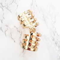 Rebel Charm Knuckle Ring