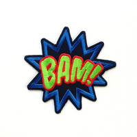Bam Iron on Patch/ Embroidery