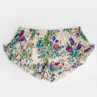 Gypsy Queen Barbarella Shorts - Cream Floral | Spell & the Gypsy Collective