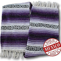 Yogi Yoga Mexican Bed Blanket - Beautiful, Bright and Comfortable Blankets