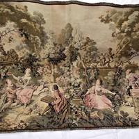 Early 1900s French Aubusson Tapestry
