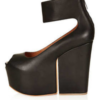 MATIKO Platform Split Wedges - Heels  - Shoes