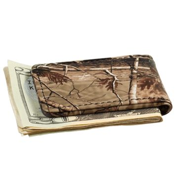 REALTREE AP® CAMO LEATHER Magnetic Money Clip