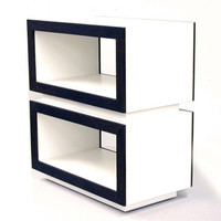 Modern Side Table End Table Modern Nightstand Console Entertainment Foyer Console Modern Shelfs Storage Modern Cabinet Entry Table