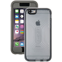 SPECK SPK-A3490 iPhone(R) 6/6s MightyShell(TM) Case + Faceplate (Clear/Clear/Slate)