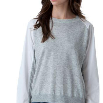 Two Toned Top by Do & Be
