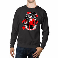 DC Comics Harley Quinn Hello Puddin Unisex Sweaters - 54R Sweater