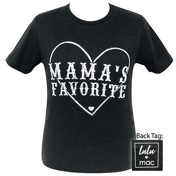 Girlie Girl Originals Lulu Mac Preppy Mama's Favorite T-Shirt