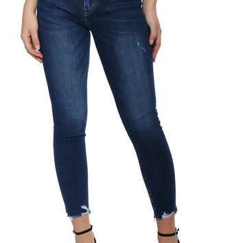 Flying Monkey High Rise Crop Skinny