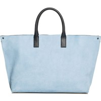Akris Medium AI Bicolor Nubuck & Leather Tote | Nordstrom