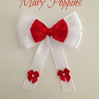 Disney inspired Mary Poppins hair bow