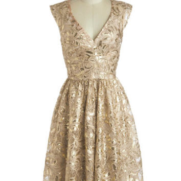 Twinkling at Twilight Dress | Mod Retro Vintage Dresses | ModCloth.com