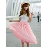 Pretty Pink Tulle Skirt