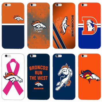Denver Bronco American Football slim silicone Soft phone case For LG G2 G3 mini spirit G4 G5 G6 K7 K8 K10 2017 V10 V20 V30