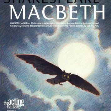 Shakespeares Macbeth 11x17 Broadway Show Poster