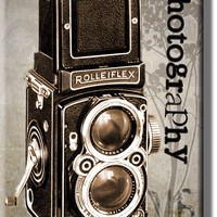 Vintage Camera Photography Picture on Acrylic , Wall Art Décor, Ready to Hang