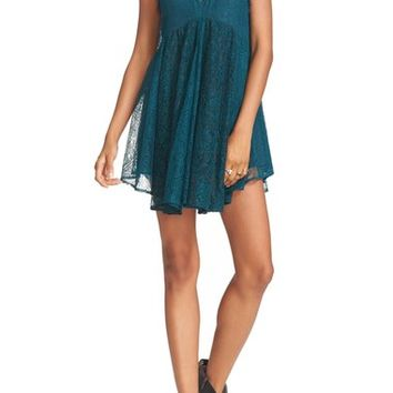 Free People Don't You Dare Lace Shift Dress | Nordstrom