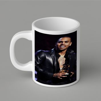Gift Mugs | Chris Brown Grammy Ceramic Coffee Mugs