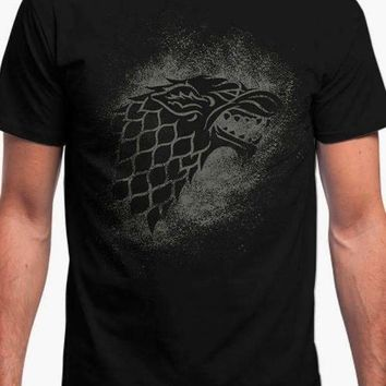 HOUSE STARK SIGIL SPLATTER - GAME OF THRONES