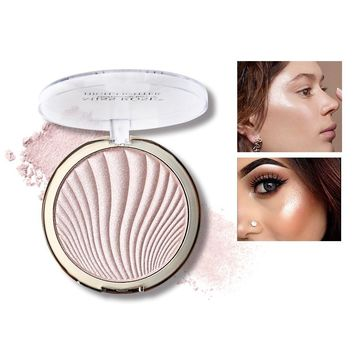 Miss Rose Highlighter Makeup 6 Colors Natural Glow Illuminator Make Up Base Highlighter Palette Glitter Contour Powder Brighten