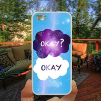 Okay Rainbow  phone case 4/4s case iphone 5/5s/5c case samsung galaxy s3/s4 case galaxy S5 case Waterproof gift case 450