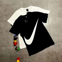 Nike Swoosh Big Logo White Tee T-shirt