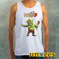 Clash of Clans Goblin King Clothing Tank Top For Mens