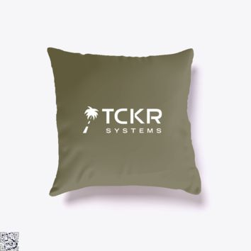 Tomorrow's Technology, Black Mirror Throw Pillow Cover