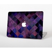 "The Dark Purple Highlighted Tile Pattern Skin Set for the Apple MacBook Pro 15"" with Retina Display"