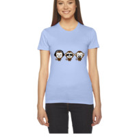 three modern monkeys - Women's Tee